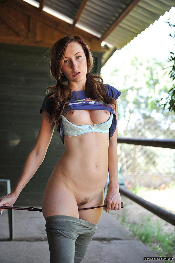 Taking off leggings nude girls