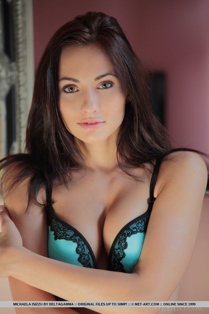 Beautiful Gorgeous Porn - The gorgeous Michaela Isizzu in stunning lingerie that accentuates her slim  body