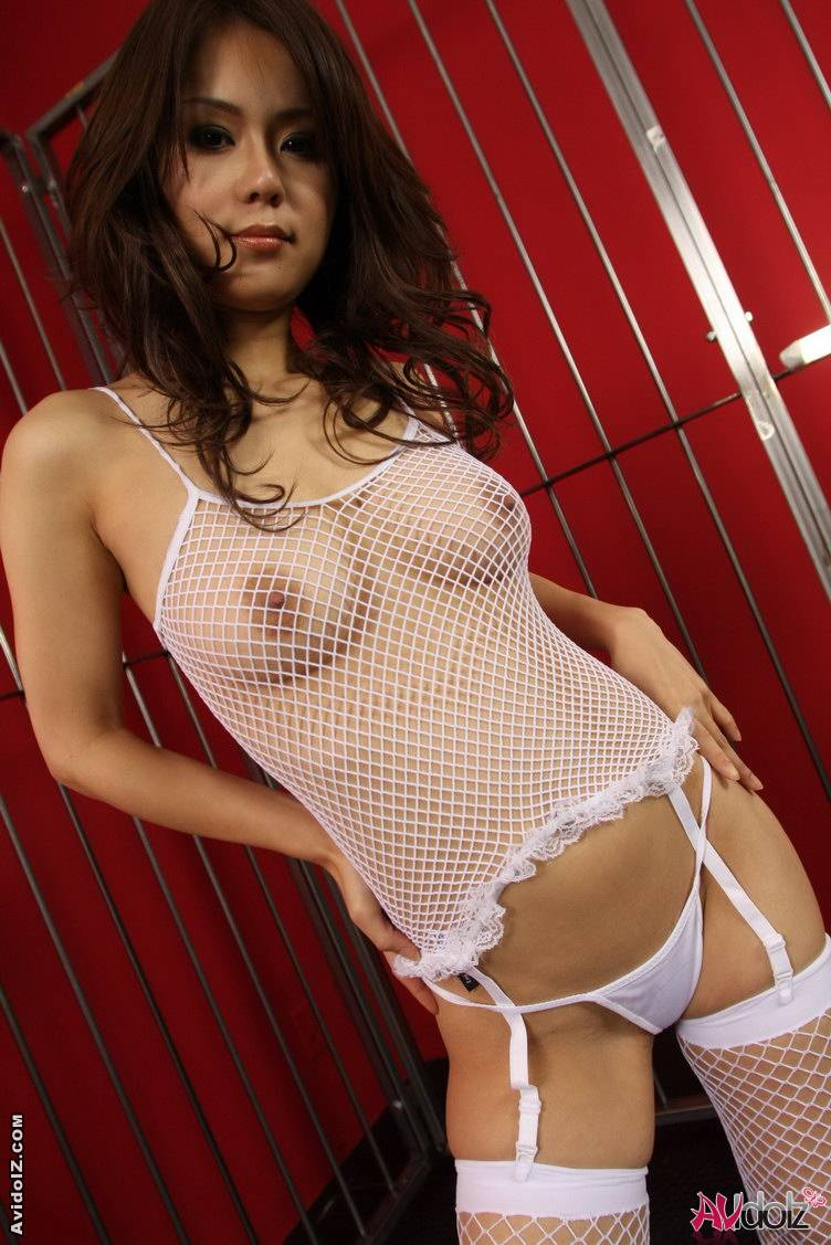 Lingerie girl see through